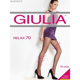 Колготки женские лечебные, с распределением давления Giulia Relax 70 den