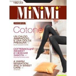 Колготки женские теплые из хлопка Minimi Cotone 160 den