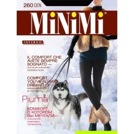 Колготки женские теплые Minimi Piuma 260 den