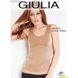 Майка Giulia CANOTTA SCOLLO TONDO женская