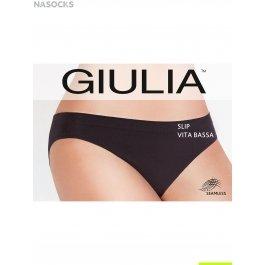Трусы-слип женские, бесшовные с заниженным поясом Giulia SLIP VITA BASSA