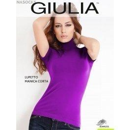 Водолазка женская Giulia LUPETTO MANICA CORTA, бесшовная с коротким рукавом