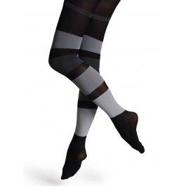 Купить Колготки женские, с контрастным орнаментом Happy Socks TN12-010 50 den