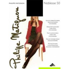 Колготки женские непрозрачные, из микрофибры с лайкрой 3D Philippe Matignon NOBLESSE 50 den