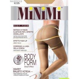 Колготки женские тонкие, с моделирующим эффектом Minimi BODY FORM 40 den