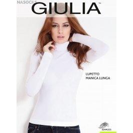 Водолазка GIULIA LUPETTO MANICA LUNGA женская бесшовная с длинным рукавом и невысокой горловиной