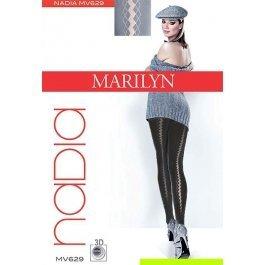 Колготки женские, 3D микрофибра, с рисунком Marilyn NADIA 629, 40 den