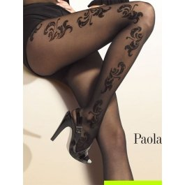 Колготки Gatta PAOLA 43 женские, с рисунком, 40 den