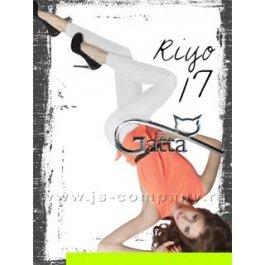 """Леггинсы Gatta RIYO 17 женские, матовые, с рисунком """"барьер"""""""