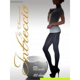 Купить Колготки женские фантазийные INTRECCIO  60 DEN BAULI 60