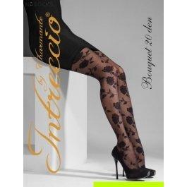 Купить колготки женские фантазийные intreccio  20 den CHARMANTE BOUQUET 20