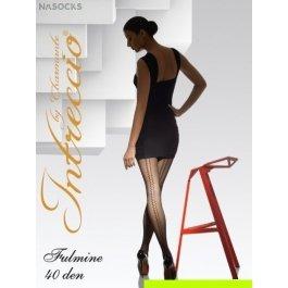 Купить Колготки женские фантазийные INTRECCIO  40 DEN FULMINE 40