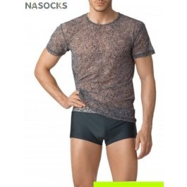 Купить футболка мужская 2215 50 shades of gray CHARMANTE MF221510 Ocean