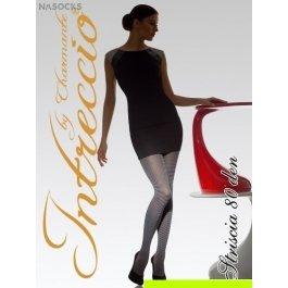 Купить Колготки женские фантазийные INTRECCIO  80 DEN STRISCIA 80