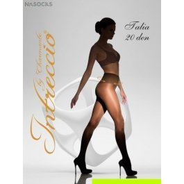 Купить женские классические колготки с корректирующим широким поясом intreccio  20 den CHARMANTE TALIA 20