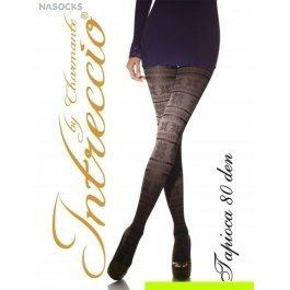 Купить колготки женские фантазийные intreccio  80 den CHARMANTE TAPIOCA 80