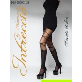 Купить Колготки женские фантазийные INTRECCIO  40 DEN TESSUTO 40