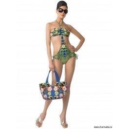 Купить сумка пляжная 2415 emerald leopard CHARMANTE WAB2402 Toccara