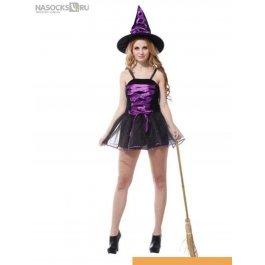 Купить костюм карнавальный для женщин (Ведьма) карнавальные костюмы CHARMANTE WCH-1001A