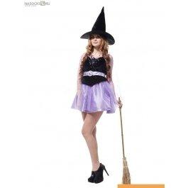 Интернет-магазин костюм карнавальный для женщин (Ведьма) карнавальные костюмы CHARMANTE WCH-1126B