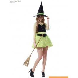 Купить Костюм карнавальный для женщин (Ведьма) WCH-1126C