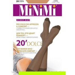 Гольфы женские Minimi DOLCE 20 (2 П.)