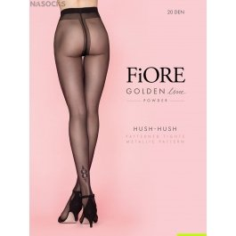Колготки женские фантазийные Fiore HUSH-HUSH