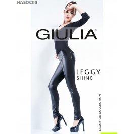 Джеггинсы Giulia LEGGY SHINE 02 из искусственной кожи
