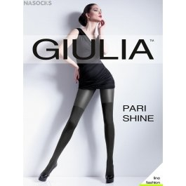 Колготки с имитацией чулок Giulia PARI SHINE