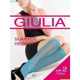 Гольфы в сеточку Giulia SUMMER RETE COLOR (2 П.)