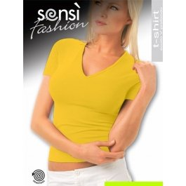 Футболка Sensi T-SHIRT SCOLLO V MANICA CORTA COLOR