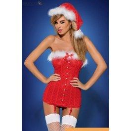 Купить комплект (4 предм.) Obsessive Santababe corset