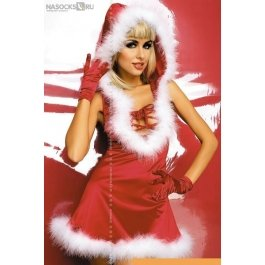 Купить Костюм н/г Obsessive Santa lady dress
