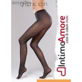 Купить Колготки женские IntimoAmore C&C Graphic Icon