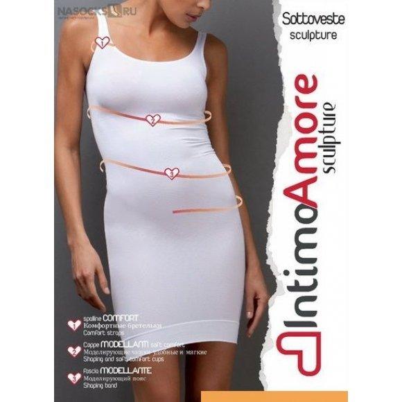 Купить Нижнее платье моделирующее IntimoAmore seamless Sottoveste sculpture