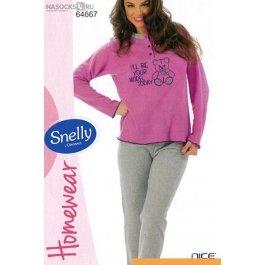 Купить пижама жен. Snelly 64667