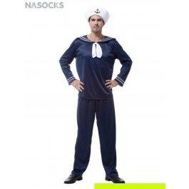 Костюм карнавальный мужской (Матрос-моряк) Charmante MCH-1064