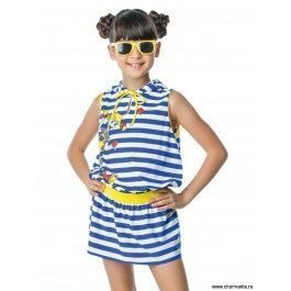 Купальник для девочек (бюст, плавки, юбка) Charmante GMU 011607 Domestica
