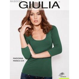 Футболка Giulia MAGLIA SCOLLO MADONNA MANICA женская