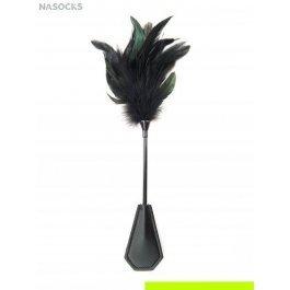 Купить Плетка (иск.кожа+перья) размер: 35см Charmante e05032
