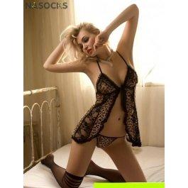 Купить Комплект женский (платье, стринги, чулки) Charmante e8978