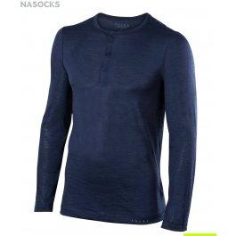 Кофта-футболка их шерсти и шелка FALKE MEN LONGSLEEVED SHIRT SILK-WOOL Falke 33421