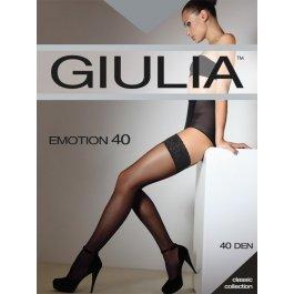 Распродажа чулки женские полуматовые Giulia Emotion 40 den