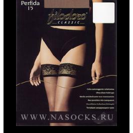 Распродажа чулки женские супер-тонкие Filodoro Perfida 15 den Auto