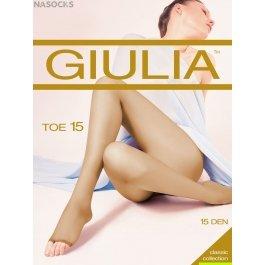 Колготки Giulia Toe 15 den женские с открытыми пальцами