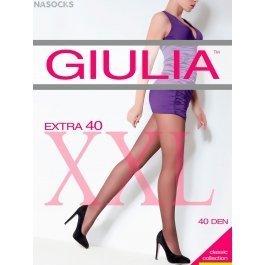 Колготки Giulia EXTRA 40 XL женские, массажные, большого размера