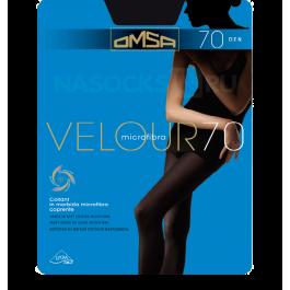 Распродажа колготки женские с микрофиброй OMSA Velour 70 den