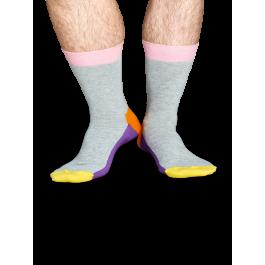 Носки Happy Socks FI01-091, c разноцветными зонами