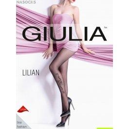Колготки с имитацией татуировки Giulia LILIAN 02