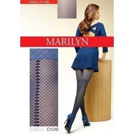 Колготки Marilyn ZAZU D08 женские, с имитацией ботфорт